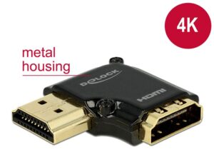 DELOCK HDMI Αντάπτορας HDMI-A female σε male