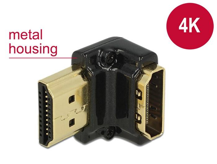 DELOCK HDMI Αντάπτορας από HDMI-A female σε HDMI-A male