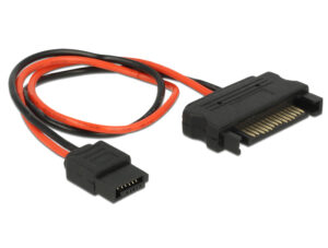DELOCK Cable SATA 15pin σε SATA 6pin