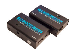 HDMI Video Extender μέσω cat-5e/cat-6e καλωδίου