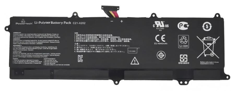 POWERTECH συμβατή μπαταρία BAT-138 για Asus EEE PC X201